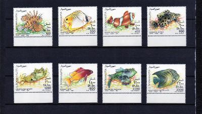 Somálsko-Korálové ryby 1994 **  Mi.491-498 / 35 €