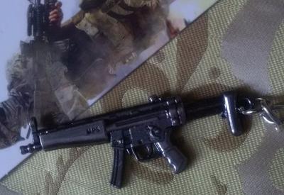 MP5 Samopal_Miniatura_ Klíčenka_NOVÉ