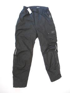 Textilní kalhoty vel. XXL- chrániče, reflex
