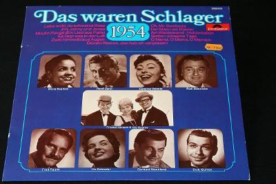 LP- Various - Das Waren Schlager 1954   (d8)