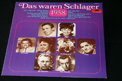 LP- Various - Das Waren Schlager 1958   (d8)