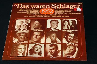 LP- Various - Das Waren Schlager 1952   (d8)
