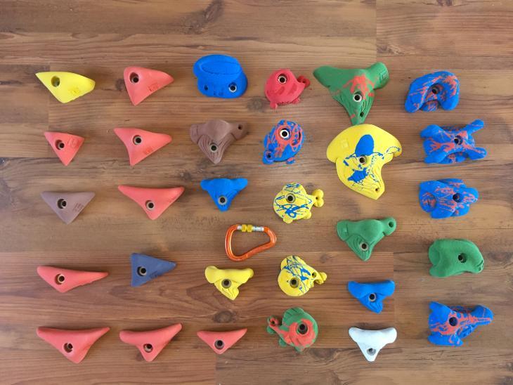 Nové dětské lezecké chyty THEREX Climbing - 30 kusů (6928897005) 5d459d8f1e2