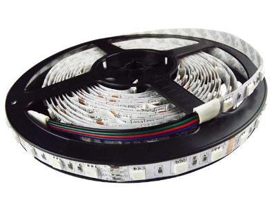RGB LED pásek 5m 300 LED tříbarevný SMD 5050