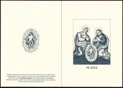NOVOROČENKA PF 2013 - ČESKÁ POŠTA (T4930)