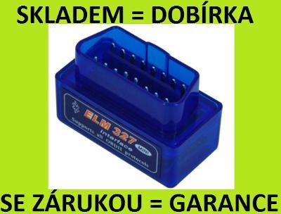 SKLADEM: AUTODIAGNOSTIKA - AUTO DIAGNOSTIKA ELM327