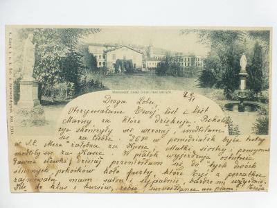 Praha - SMÍCHOV - PENSIONAT 1900 - razítko Rusko