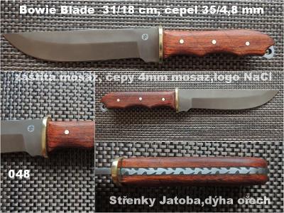Nůž Bowie Blade s pouzdrem
