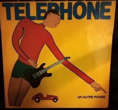 LP TELEPHONE-UN AUTRE MONDE/EX
