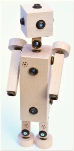 dřevěná hračka Mini Set WoodFormers - Robotice (237 v 11) (roto/army)