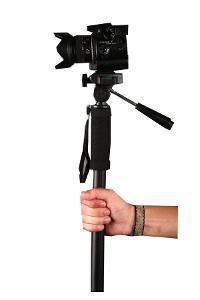 Profi stativ Monopod 1006 výška 60-180 cm s 3D hlavou (ST106)