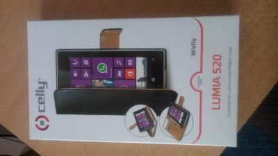 Černé pouzdro na mobil LUMIA 520