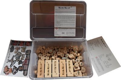 dřevěná stavebnice WoodFormers - Combo Box (construct/inca)