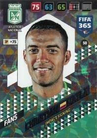 Karta FIFA 365 (2018): Christian Mafla