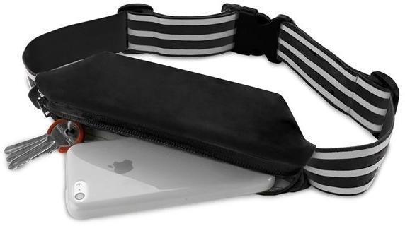 Puro univerzální sportovní pouzdro s popruhem, černá  - Obaly, pouzdra, kapsy