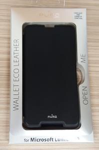 Flipové pouzdro pro Microsoft Lumia 650 černé