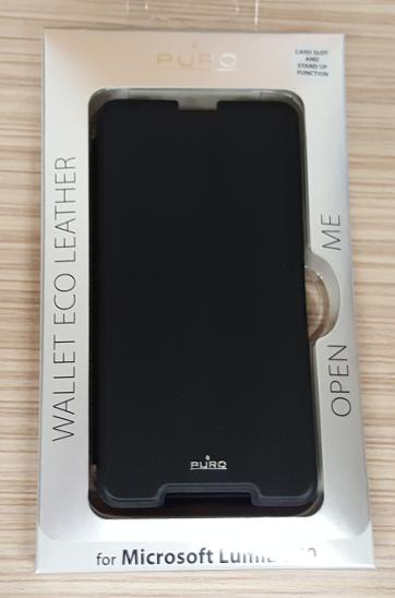 Flipové pouzdro pro Microsoft Lumia 650 černé - Obaly, pouzdra, kapsy