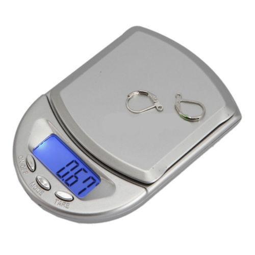 Setinková digitální váha Diamond s rozlišením 0,01g 200g - Nářadí