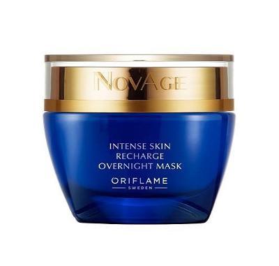 Noční revitalizační pleťová maska NovAge Oriflame