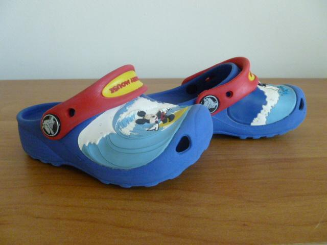 c1ce61288942 Crocs Mickey Mouse vel. 23-24 (6-7) modré s obrázky
