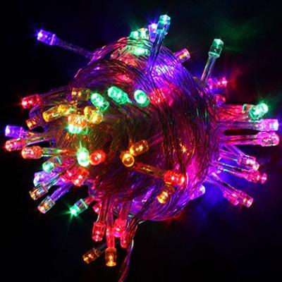 Vánoční osvětlení na stromeček 100x LED 10m RGB