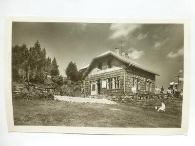 Beskydy - Jávorník, Frenštát pod Radhoštěm - chata - razítko