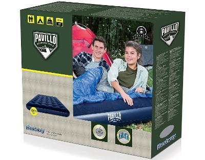 Nafukovací postel matrace dvoulůžko lůžko BESTWAY PAVILLO 191x137cm