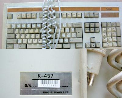 Naprosto unikátní historická mechanická (CHERRY) klávesnice COPAM AT!!