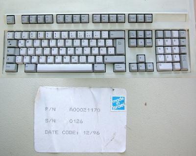 Jen pro náročné sběratele historická klávenice AT bez odk. made Israel