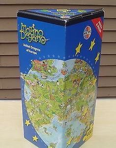 PUZZLE HEYE 4000 kusů - UNITED DRAGONS OF EUROPE (DEGANO) 136x96cm