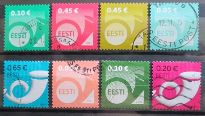Estonsko - Poštovní trubka 0658