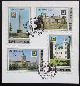KLDR 1987 Berlín, 750. výročí na papíře Mi# 2884-87 Kat 35€ 0655