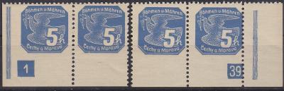 NOVINOVÁ 1939 DČ 1-39 + SOUKROMÁ PERFORACE - MIMOŘÁDNÉ !! - **svěží**