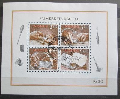 Norsko 1991 Den známek Mi# Block 15 0653