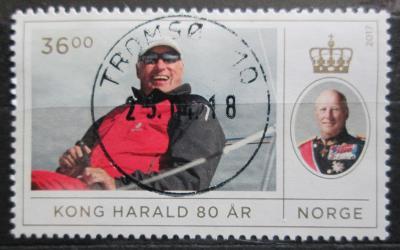 Norsko 2017 Král Harald Mi# 1932 Kat 9.30€ 0653