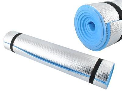 Karimatka ALU stříbrná 180x60x0,6cm + STICKY MAT ZDARMA