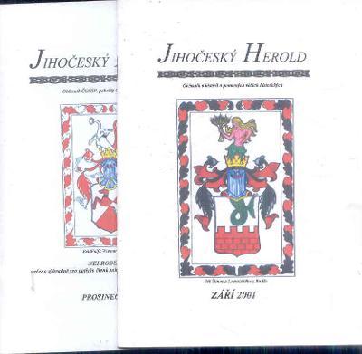 JIHOČESKÝ HEROLD 2001   2 KS