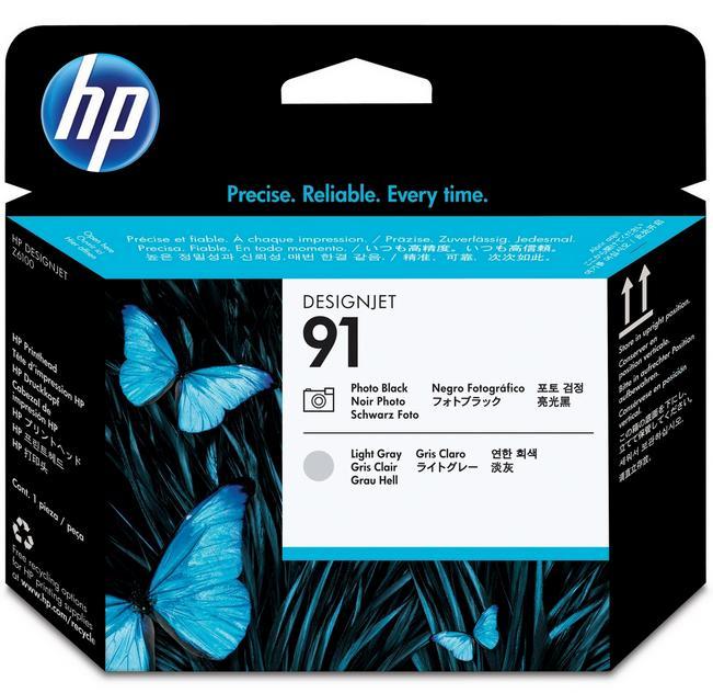 Originální tisková hlava HP 91 C9463A Photo black & Light gray - Příslušenství k PC