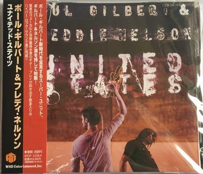 PAUL GILBERT & EDDIE NELSON - United States CD japan Mr. Big RARE