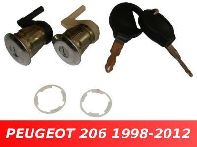 Vložka zámku dveří PEUGEOT 206 levá + pravá 1998-2012