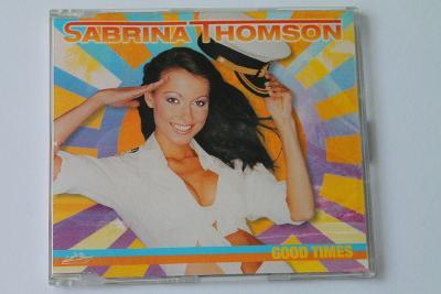 CD - Sabrina Thomson - Good Times   (k11)