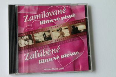 CD - Zamilované filmové písně   (k11)