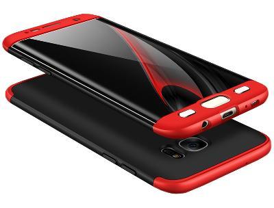 Samsung Galaxy S6 Edge, obal pouzdro kryt SILKY 360° hedvábí efekt E24