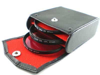 Sada 3 filtrů s pouzdrem (CPL+FLD+UV) průměr 58 mm (Filset58)