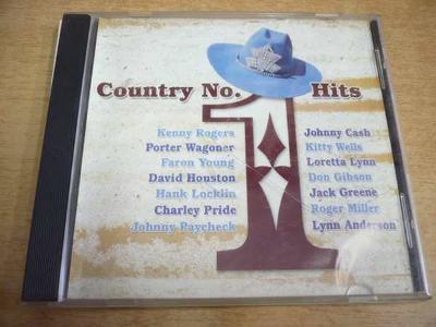 CD Country No.1 Hits (Cash, Rogers, Pride, Lynn...)