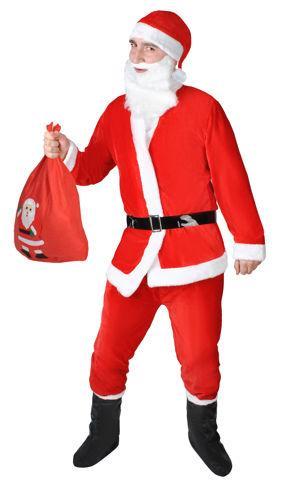 Plyšový kostým - Santa Claus + STICKY MAT ZDARMA  ac836af70e7