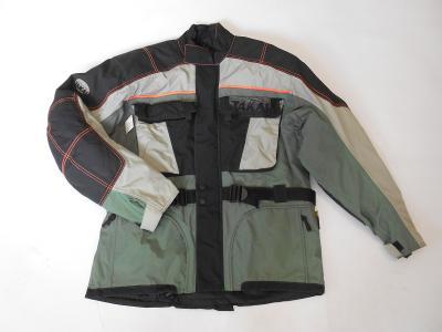 Textilní bunda vel. XL- chrániče, odep. termovložka