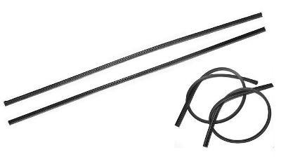 Guma stěrače Gumičky stěračů 700 mm černá 2ks