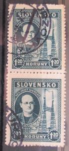 Slovensko 1939 Jozef Murgaš pár Mi# 47 0099