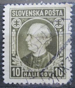 Slovensko 1939 Andrej Hlinka Mi# 36 0098